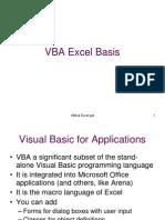 VBA Excel Basis