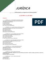 Semana Juridica. Cartel 2012