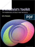 Relativist's Toolkit the Mathematics of Black-Hole Mechanics