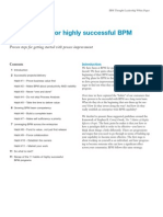 11 Habits of Highly Successful BPM Programs by IBM