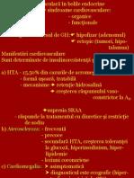 Afectarea Cardiovascular A in Bolile Endocrine