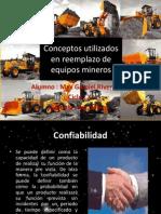 Conceptos Utilizados en Reemplazo de Equipos Mineros