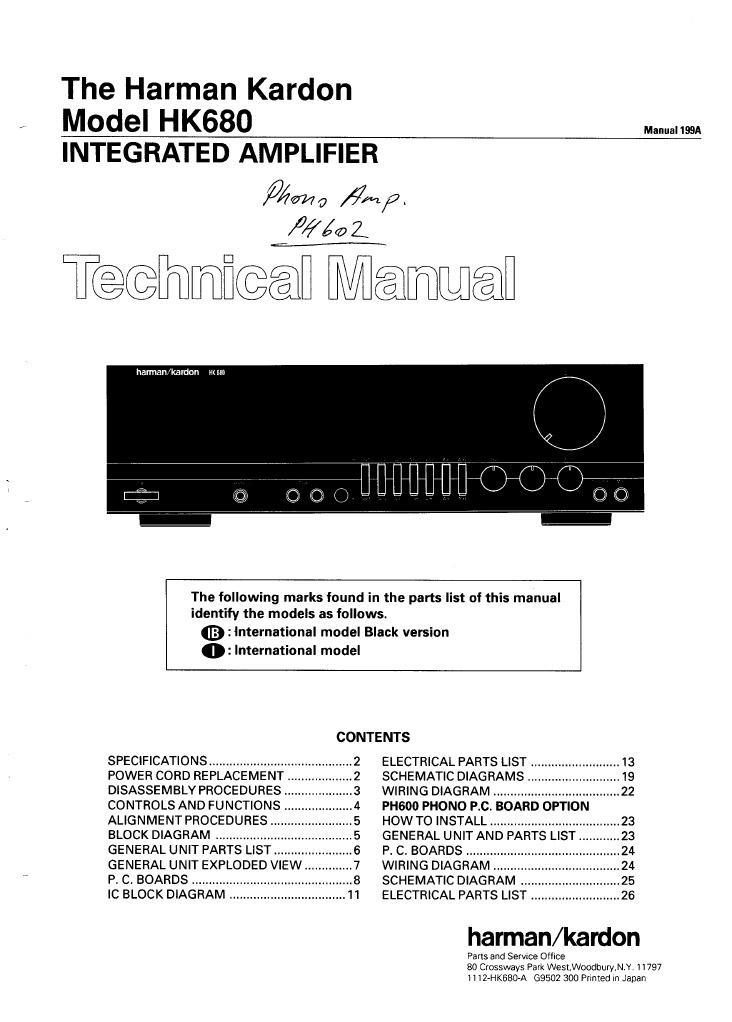 harman kardon hk 680 rh scribd com p38 harman kardon wiring diagram harman kardon amplifier wiring diagram