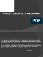 2. Psicopatologia de La Afectividad