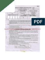 PGCET-MCA-2011-QuestionPaper