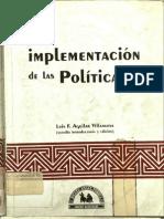 Aguilar Villanueva La Implementacion de Las Politicas