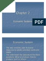 Economics-Chapter 2 Notes