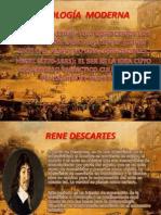 ONTOLOGÍA  MODERNA-DESCARTES