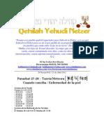 Parashat Tazría y Metzorát # 27, 28 Adul 6012