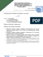 A 5 PROBLEMAS DE  NÚMERO DE REYNOLDS 26032012