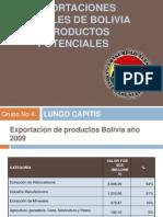 Exportaciones Actuales de Bolivia y Productos les