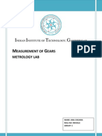 Measurement of Gears