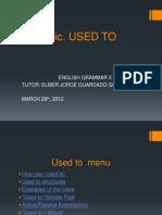 USED TO TEC III