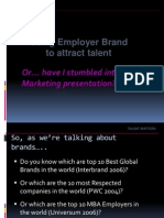 Using Employer Brand to Attract Talent