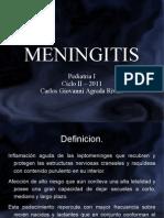 Meningitis 2011