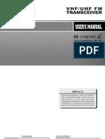 Baofeng Uv-5r English Manual