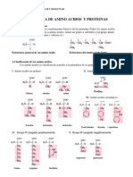 Estructura de Aminoacidos y Proteinas 1