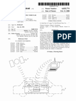 Method for retrieving vehicular collateral (US patent 6025774)