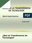 Bases de La Transfer en CIA de Tecnolog_a