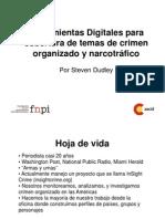 Presentación Taller de Herramientas Digitales para la cobertura de la seguridad ciudadana y el narcotráfico