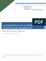 50415313 La Import an CIA de La Familia en El Proceso de Socializacion