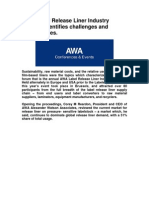 AWA Label Release Liner Industry Seminar Identifies Challenges and Opportunities