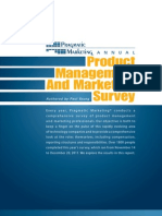 2011 2012 Annual Survey Pragmatic Mktg