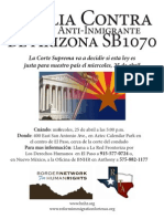 El Paso Vigil Flyer