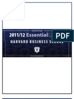 The 2012 Essential Guide to Harvard Business School