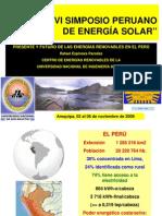 PRESENTE Y FUTURO DE LAS ENERGIAS RENOVABLES EN EL PERU