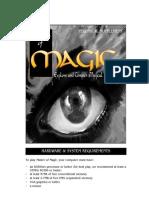 Master of Magic Manual