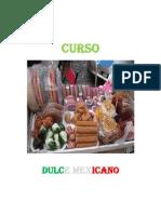 Curso de Dulce Mexicano