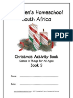 Christmas Activity & Games, Donnette E Davis, St Aiden's Homeschool