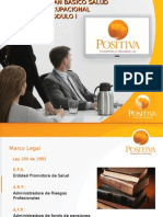 Plan Basico Modulo I - Positiva 2009 (30 Diapositivas
