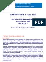 Construcciones 3 - Unidad 3 - Instalaciones Electric As
