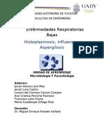 Aspergilosis Histoplasmosis e Influenza RESUMEN
