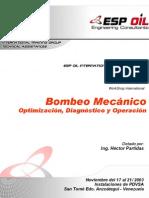 Bombeo Mecánico Optimización, Diagnóstico y Operación
