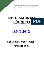 TECN.TIERRA-CLASE-A-850-2012