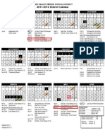 DVUSD 2011-2012 District Calendar