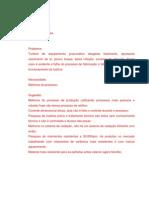 Projeto - PAM