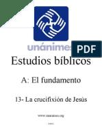 A.13.- La Crucifixion de Jesus