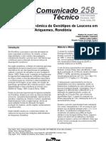 Avaliação Agronômica de Genótipos de Leucena em Rondônia