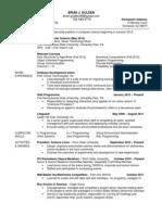 B.G. resume
