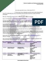 Intercomp 2012 - Carta Convite à comunidade de SI