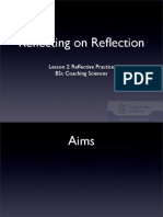 Lesson 2-Reflecting on Reflection