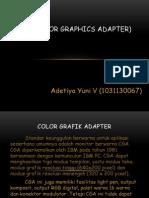 Color Graphic Array