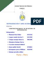 Construccion Basica de Un Sistema de Refrigeracion Informe (1)