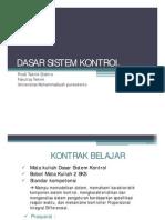 INTRO Dasar Sistem Kontrol