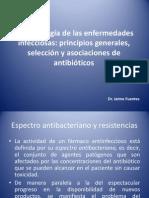 Clase 9, Farmacología de las enfermedades infecciosas, principios generales - copia