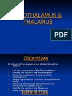 Hypothalamus and Thalamus .Physiology - Copy